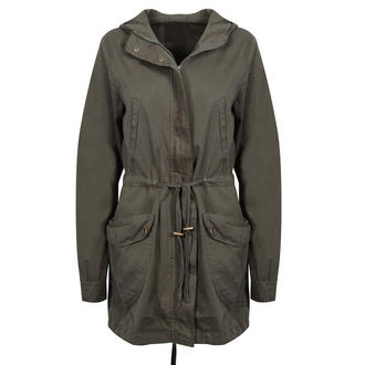 View Item Khaki Light Weight Parka Coat